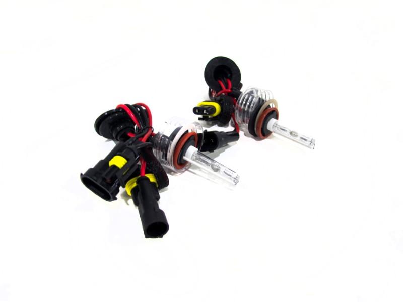 Race Sport Lighting H8-PURPLE-SB-RB H8 Purple Single Beam HID Replacement Bulbs