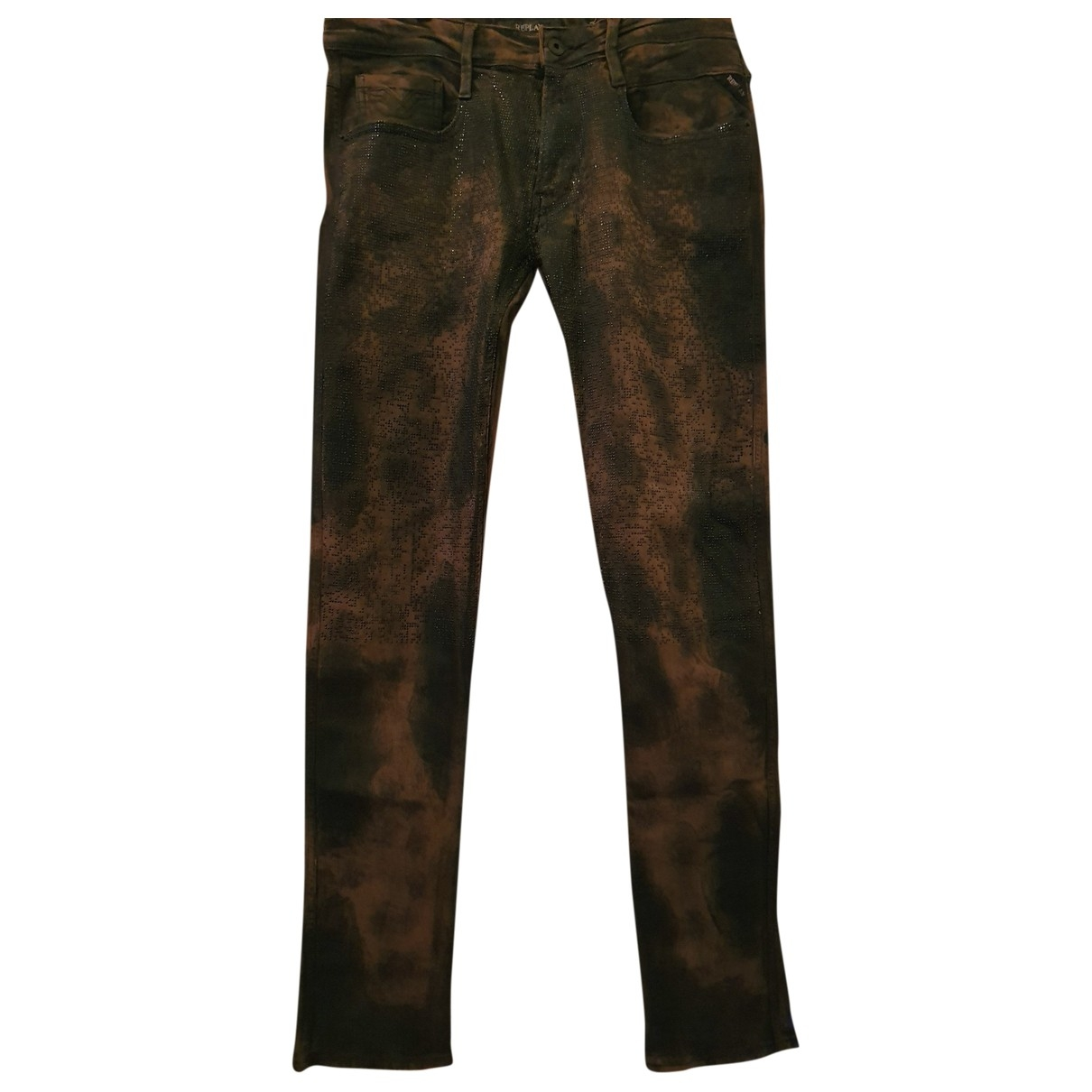 Replay \N Multicolour Jeans for Men 32 US