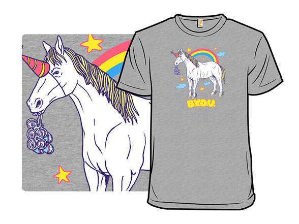 Bring Your Own Unicorn T Shirt