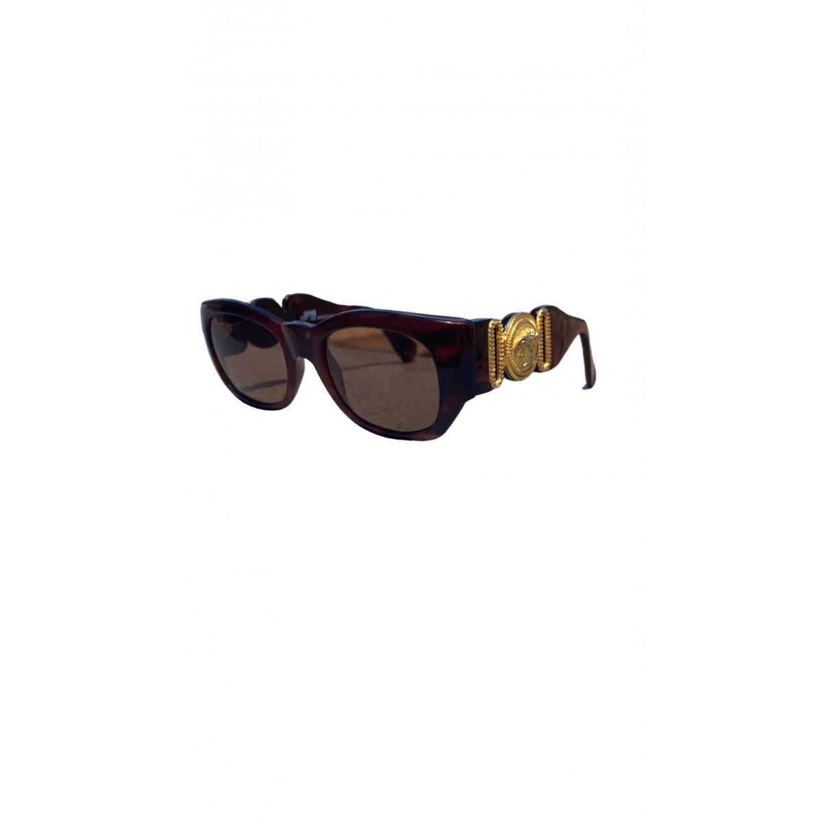 Versace \N Brown Sunglasses for Men \N