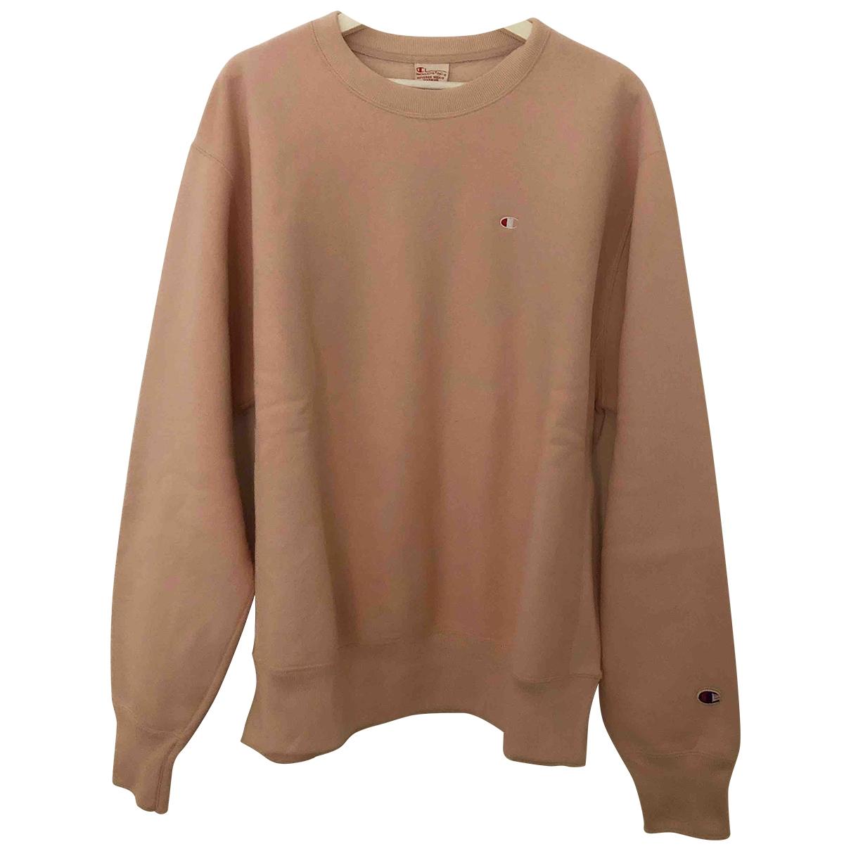 Champion \N Pink Cotton Knitwear for Women L International