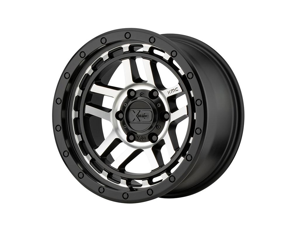 XD Series XD14088568518 XD140 Recon Wheel 18x8.5 6x6x139.7 +18mm Satin Black Machined
