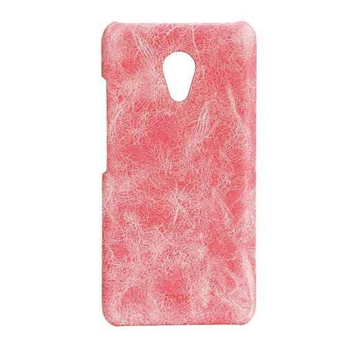 Pink Meizu Meilan 3 Leather Case MOFI Heart Series Protective Cover Screen Protector