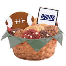 NFL New York Giants Cookie Basket