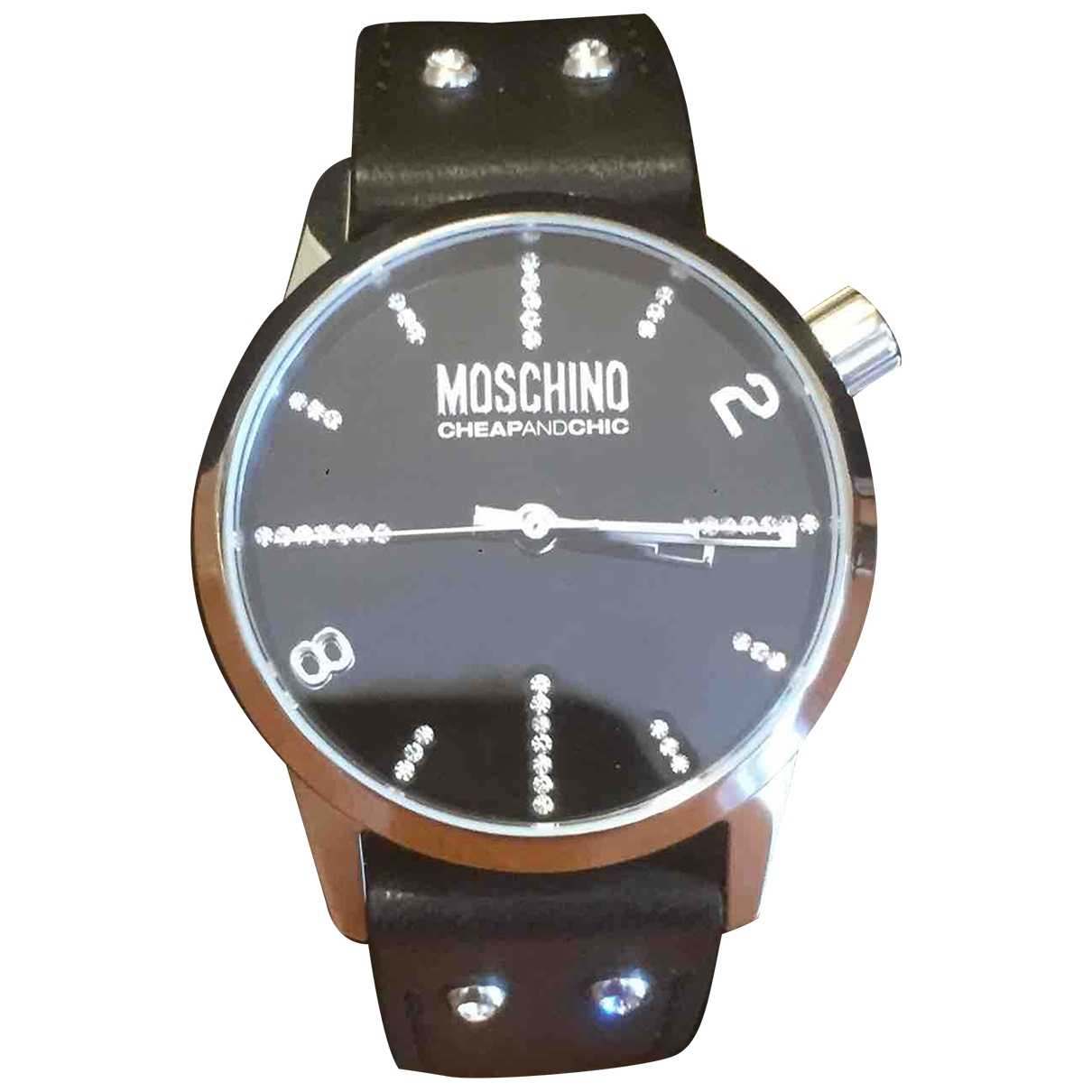 Moschino Cheap And Chic \N Black Steel watch for Women \N