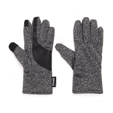 Muk Luks Texting Gloves Cold Weather Gloves, Small-medium , Black