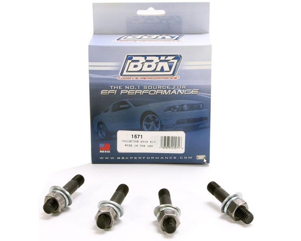 BBK 1571 Performance Parts BBK 1571 EXHAUST HEADER COLLECTOR STUD KIT (4 PCS+WASHERS & NUTS)