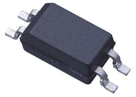 ON Semiconductor , HMHA2801 DC Input Phototransistor Output Optocoupler, Surface Mount, 4-Pin Mini-Flat (25)