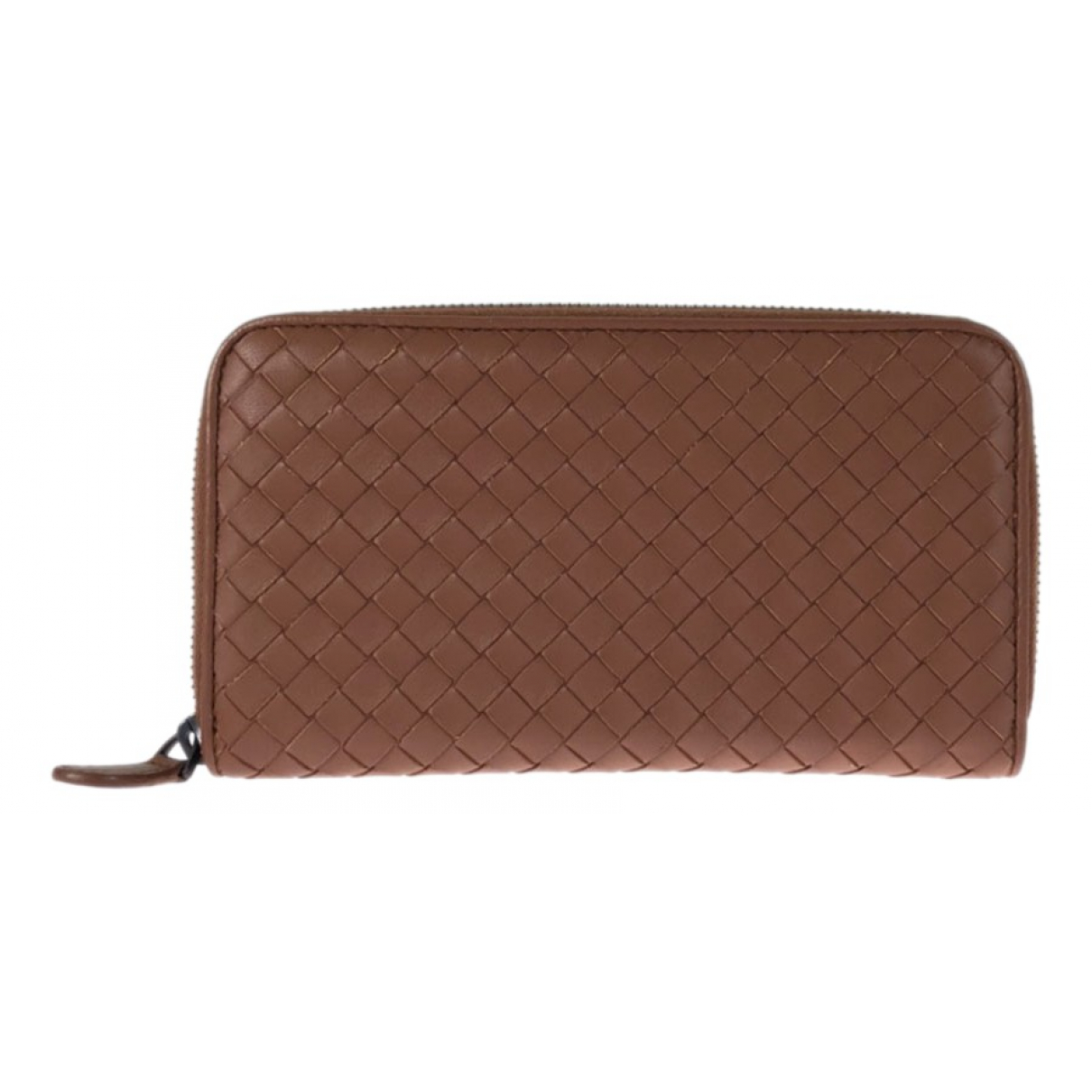 Bottega Veneta \N Brown Leather Small bag, wallet & cases for Men \N