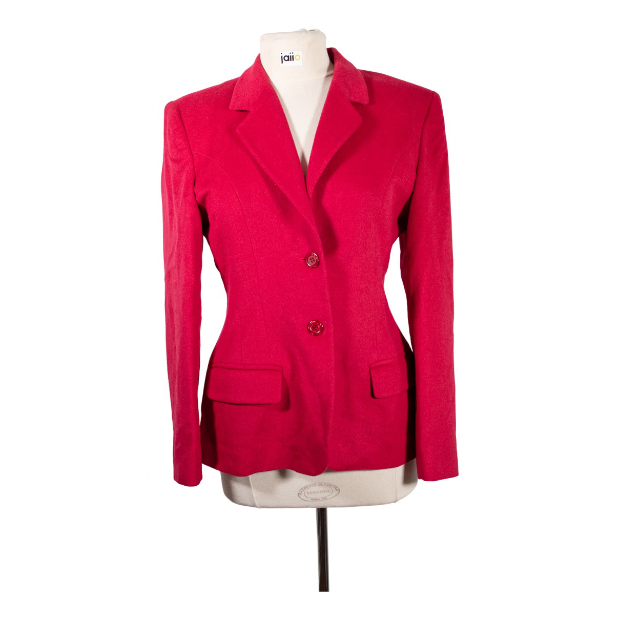 Irene Van Ryb \N Red Wool jacket for Women XL International