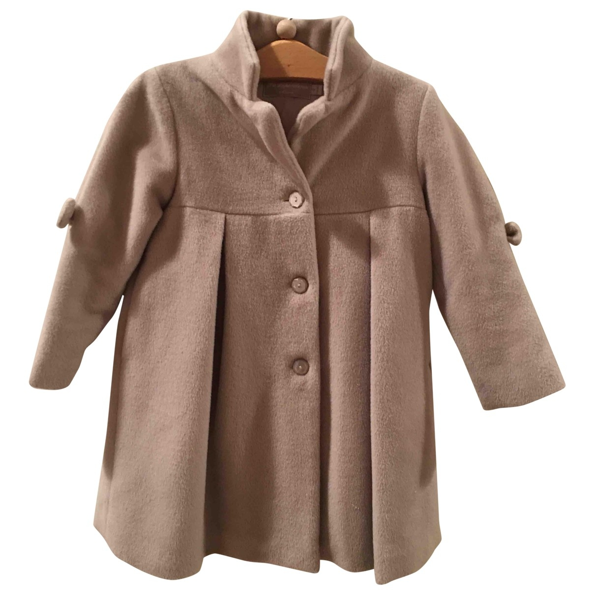 La Stupenderia \N Pink Wool jacket & coat for Kids 4 years - up to 102cm FR