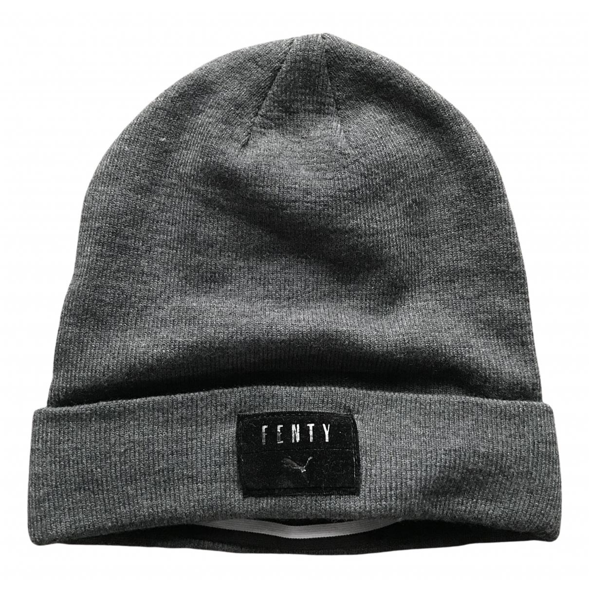 Fenty X Puma \N Grey hat & pull on hat for Men M International