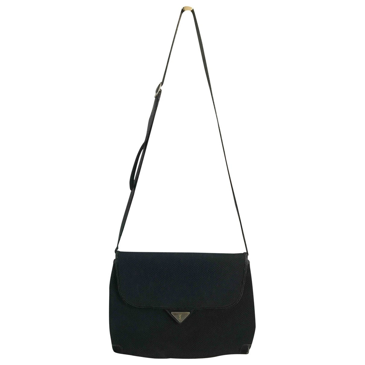 Yves Saint Laurent \N Black Cloth handbag for Women \N