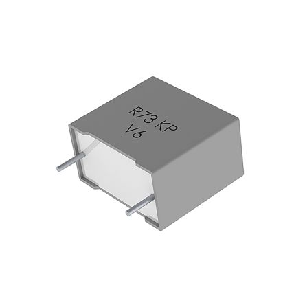 KEMET 33nF Polypropylene Capacitor PP 300 V ac, 630 V dc ±5% Tolerance Through Hole R73 Series (500)