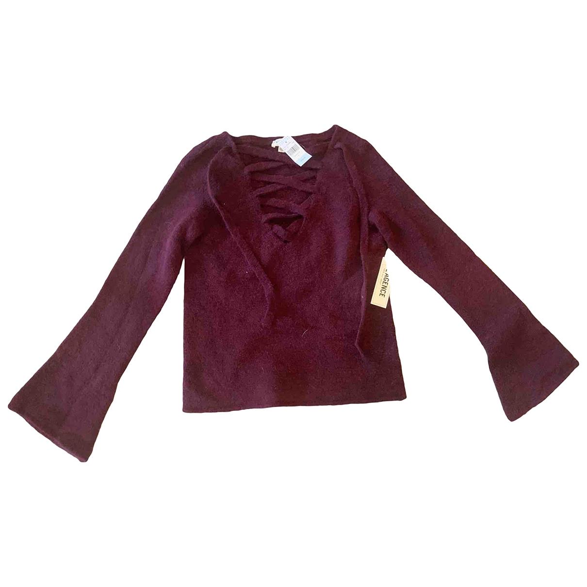 L'agence \N Purple Cashmere Knitwear for Women XS International