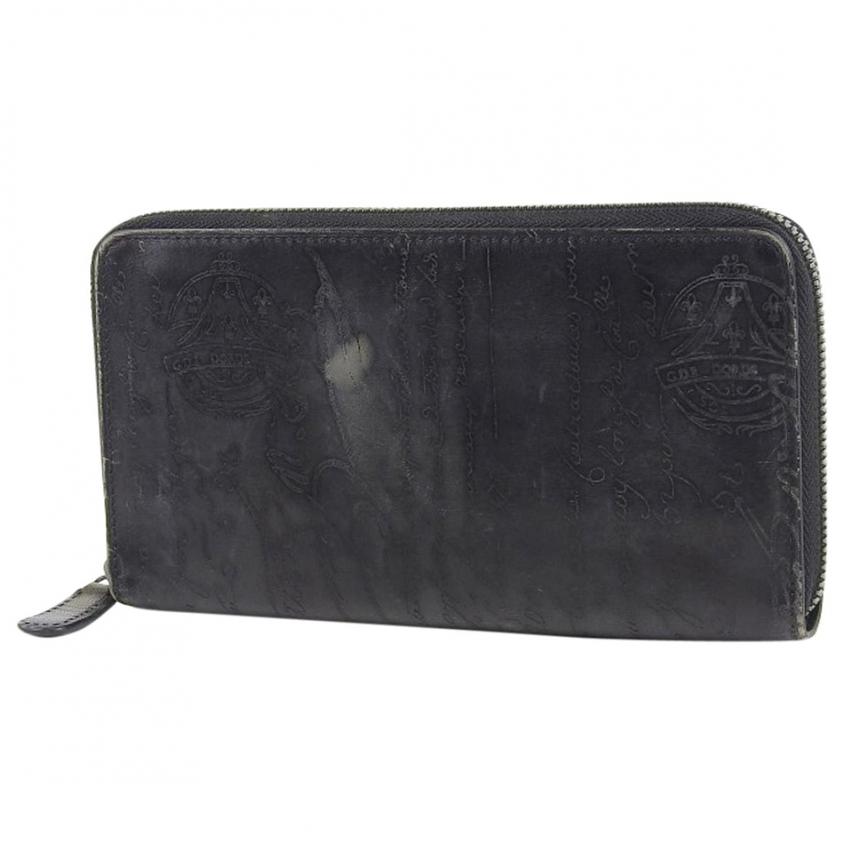 Berluti \N Black Leather wallet for Women \N