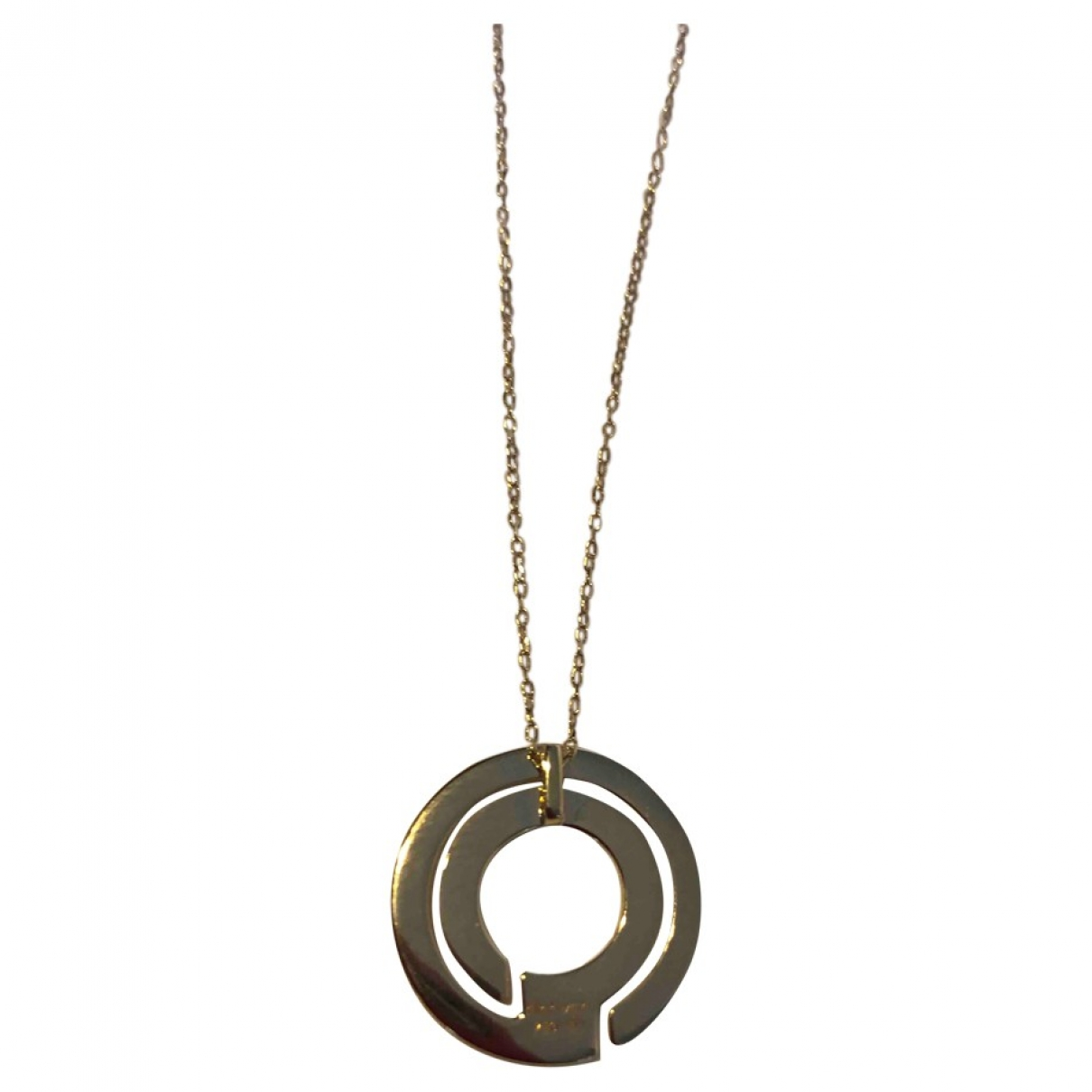 Dinh Van Seventies Gold Yellow gold necklace for Women \N