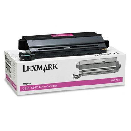 Lexmark 12N0769 cartouche de toner originale magenta