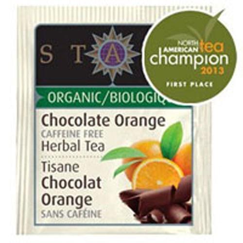 Organic Chocolate Orange Herbal Tea 18 Bags by Stash Tea