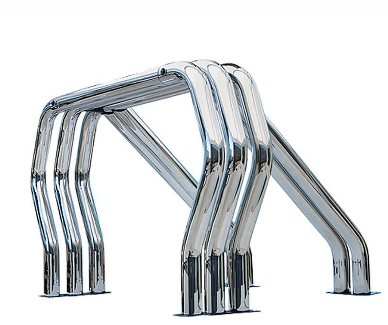 Go Rhino 9009560TDC! Bed Bars- Triple Bar/Double Kicker (Between Wheel Wells)