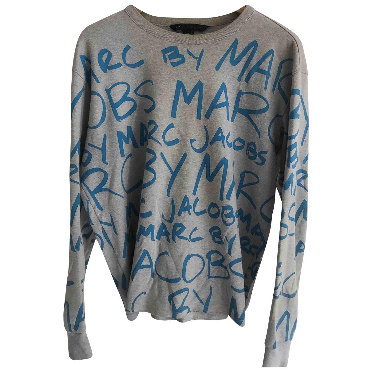 Marc By Marc Jacobs \N Grey Cotton Knitwear & Sweatshirts for Men M International