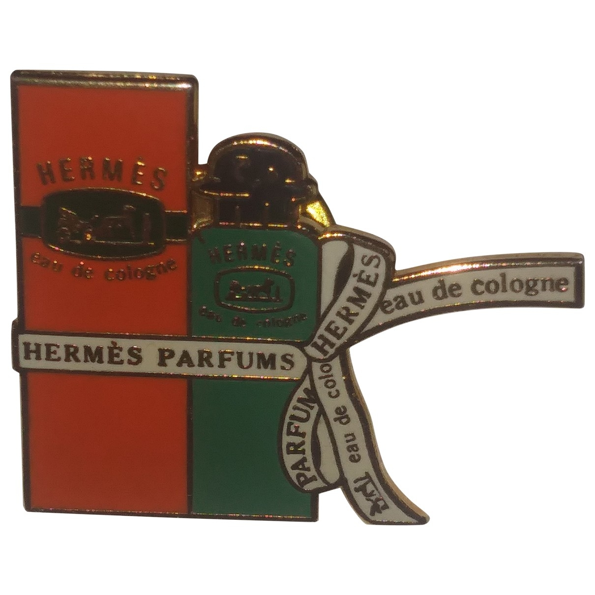 Hermès \N Multicolour Metal Pins & brooches for Women \N