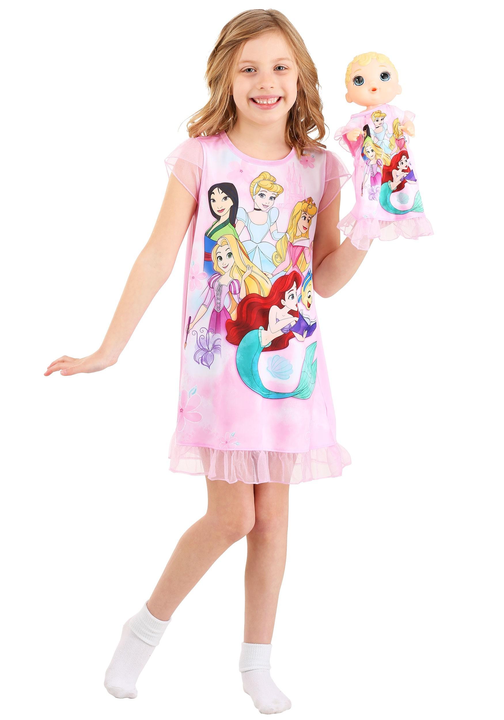 Disney Princesses Girls Dorm Nightgown