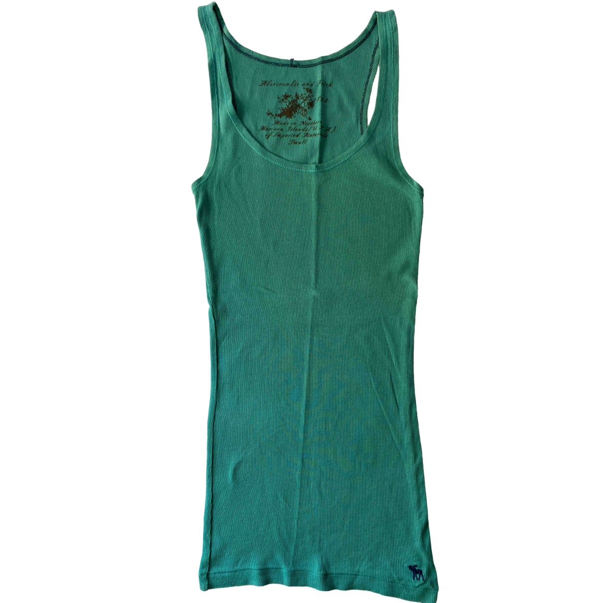 Abercrombie & Fitch \N Green Cotton  top for Women S International