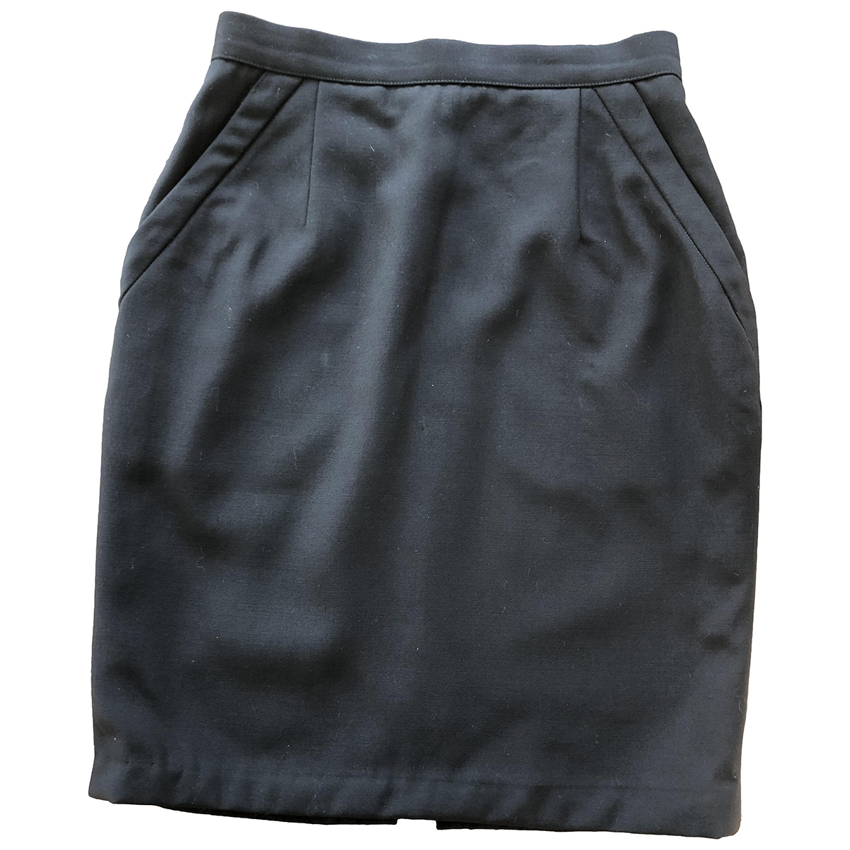 Valentino Garavani \N Black Wool skirt for Women 38 FR