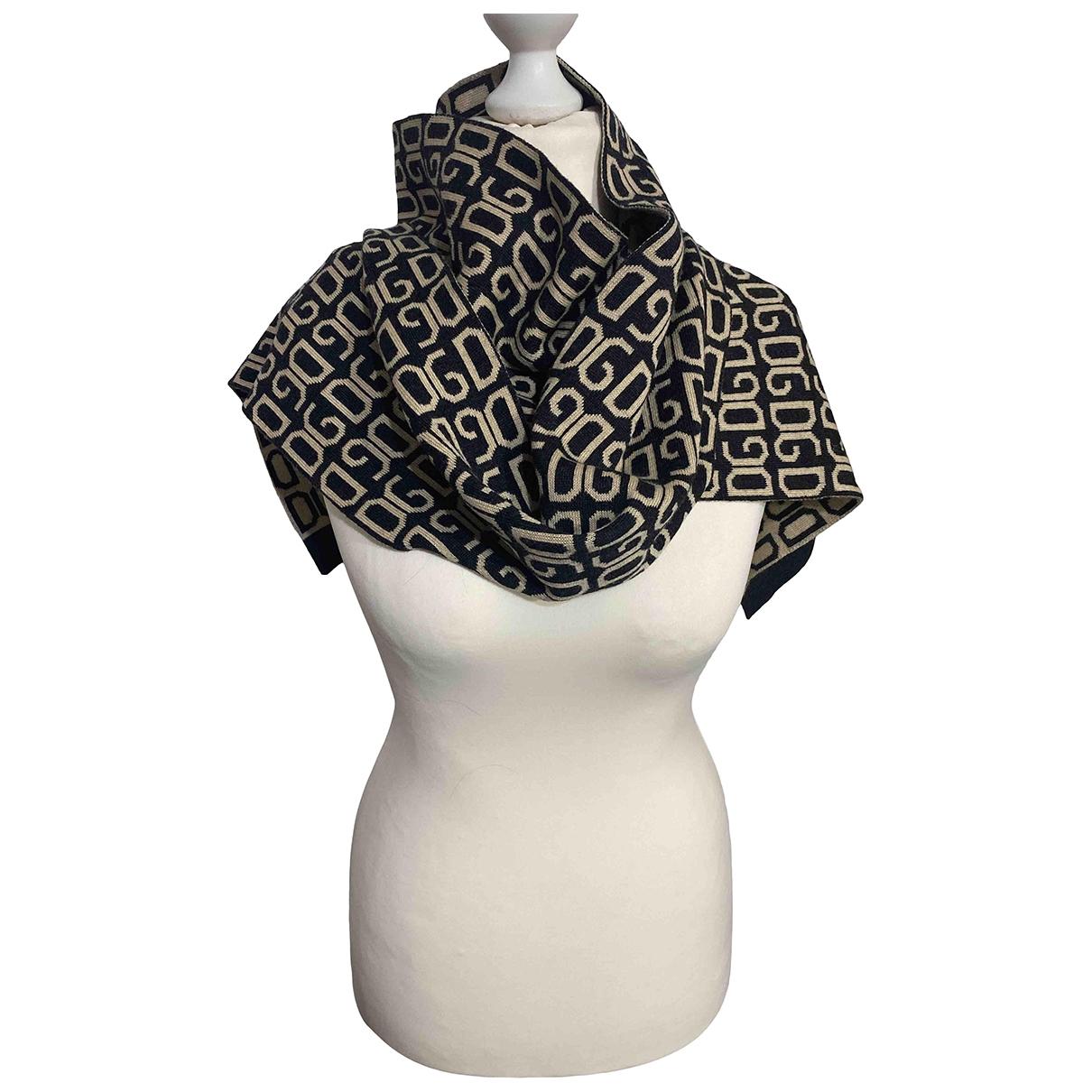 Dolce & Gabbana \N Grey Wool scarf for Women \N