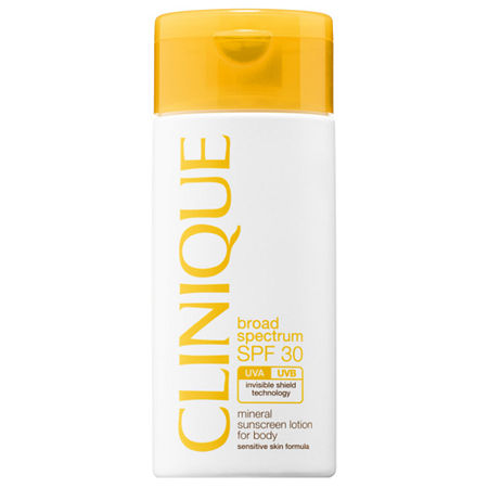 CLINIQUE Broad Spectrum SPF 30 Mineral Sunscreen Lotion for Body, One Size , No Color Family