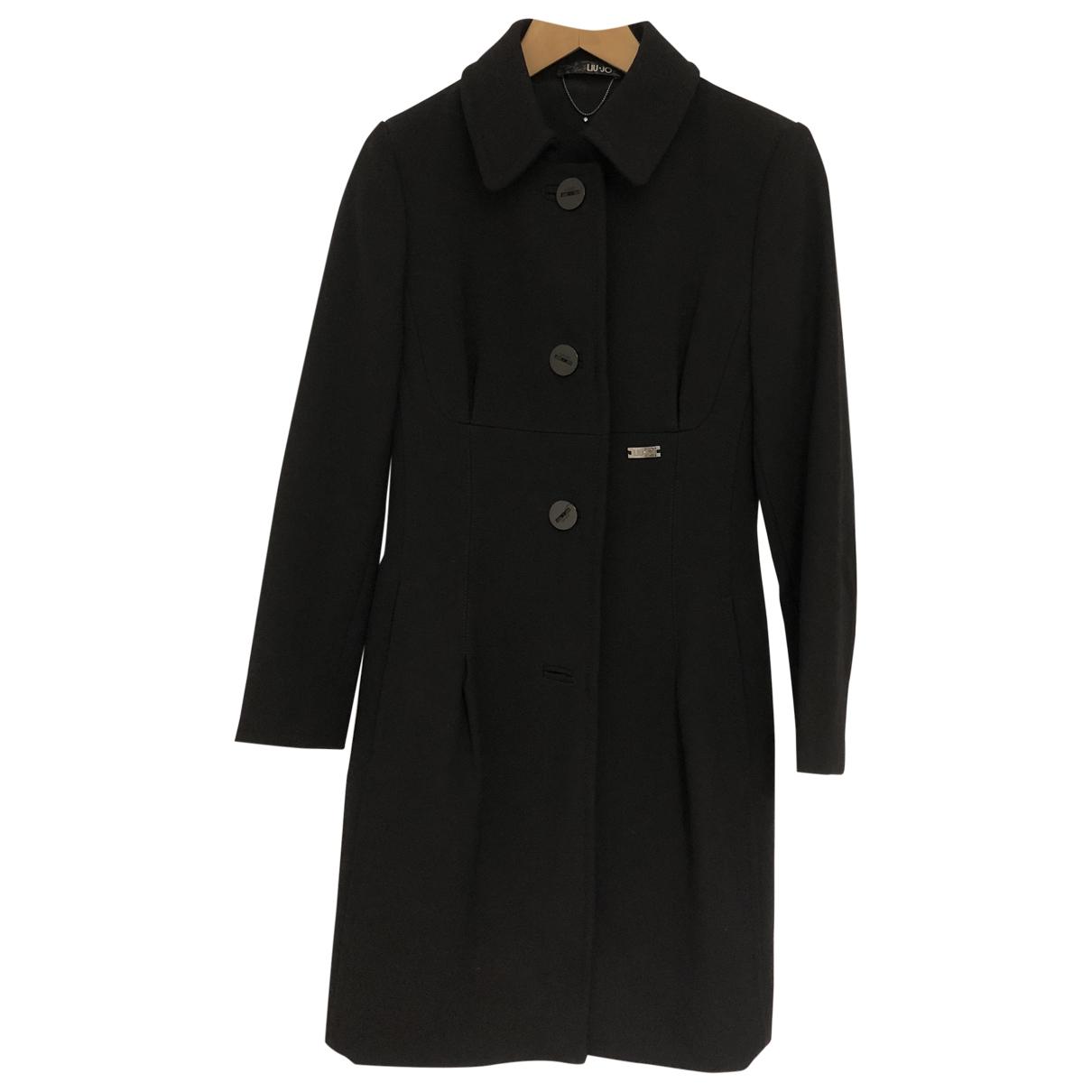 Liu.jo \N Black Wool coat for Women S International