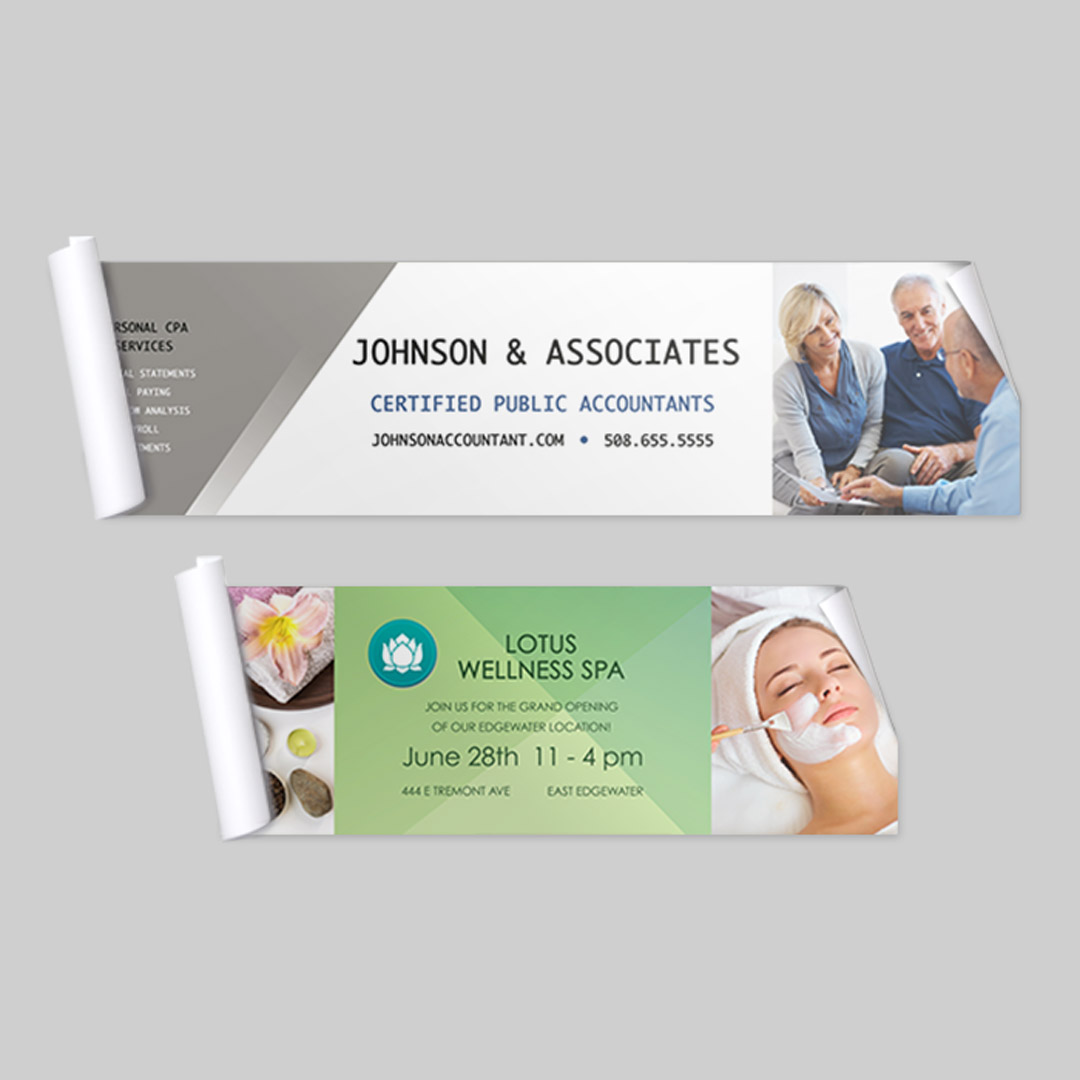 2x6 Adhesive Business Banner, Business Printing