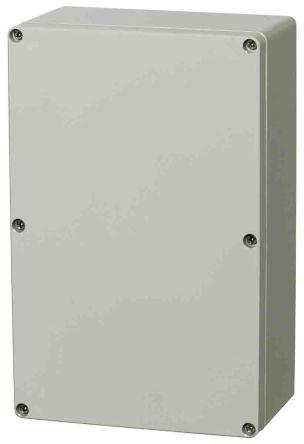 Fibox Light Grey Polycarbonate Enclosure, IP66, IP67, 250 x 160 x 150mm