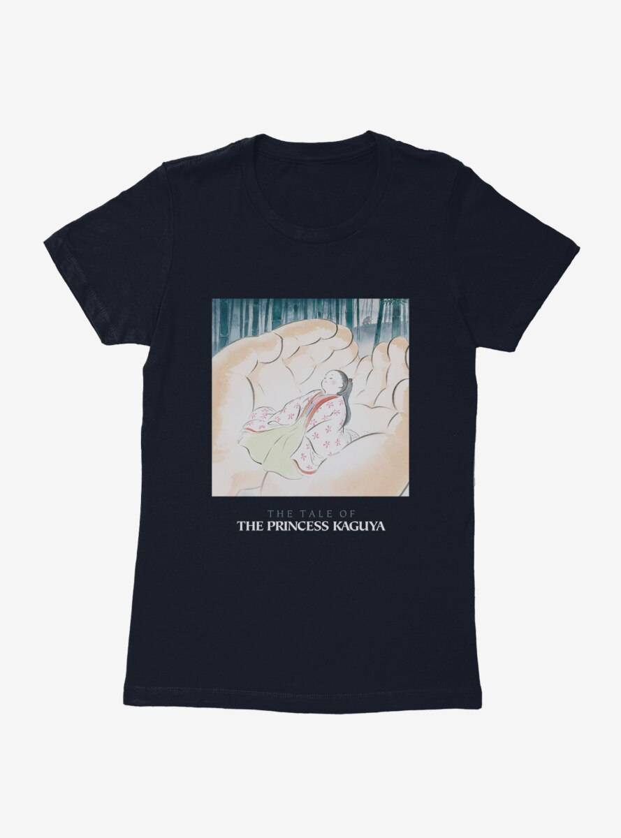 Studio Ghibli The Tale Of Princess Kaguya Womens T-Shirt