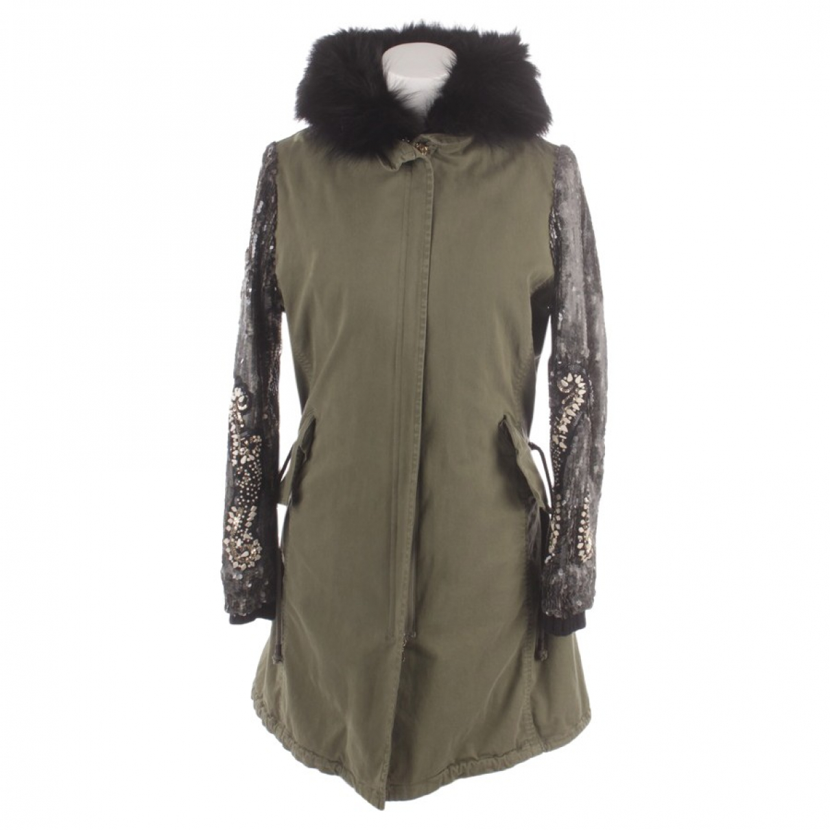 Project Foce Single Season \N Green Cotton jacket for Women 38 FR