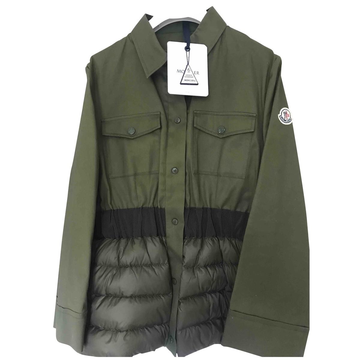 Moncler \N Green Cotton jacket for Women 44 FR