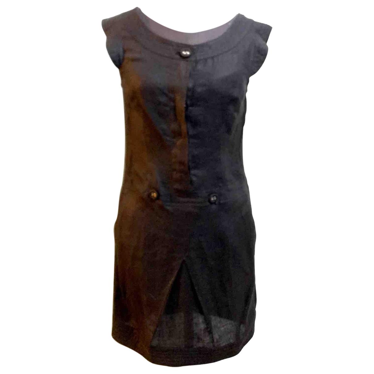 Max & Co \N Black Linen dress for Women 40 IT