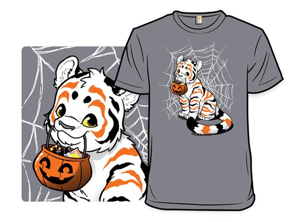 Halloween Candy Tiger T Shirt
