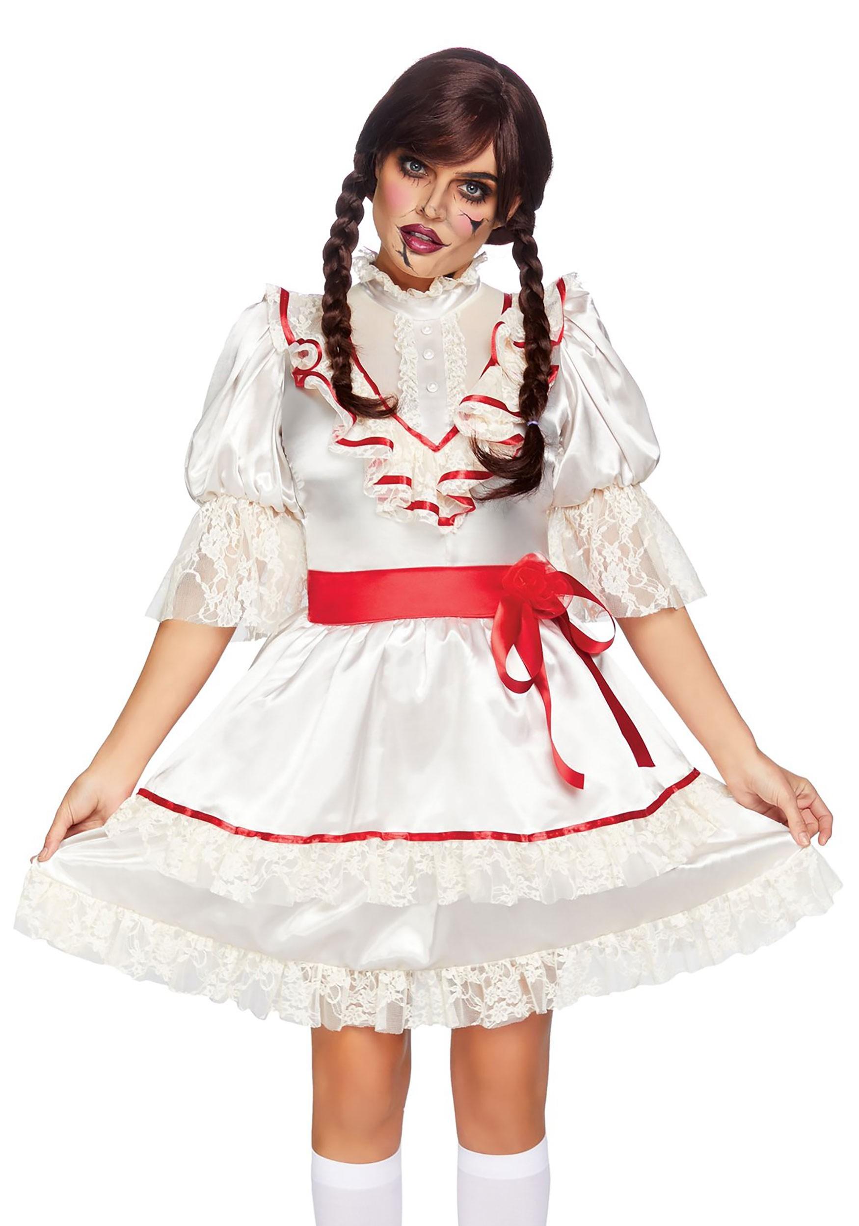 Haunted Doll Dress Women's Costume