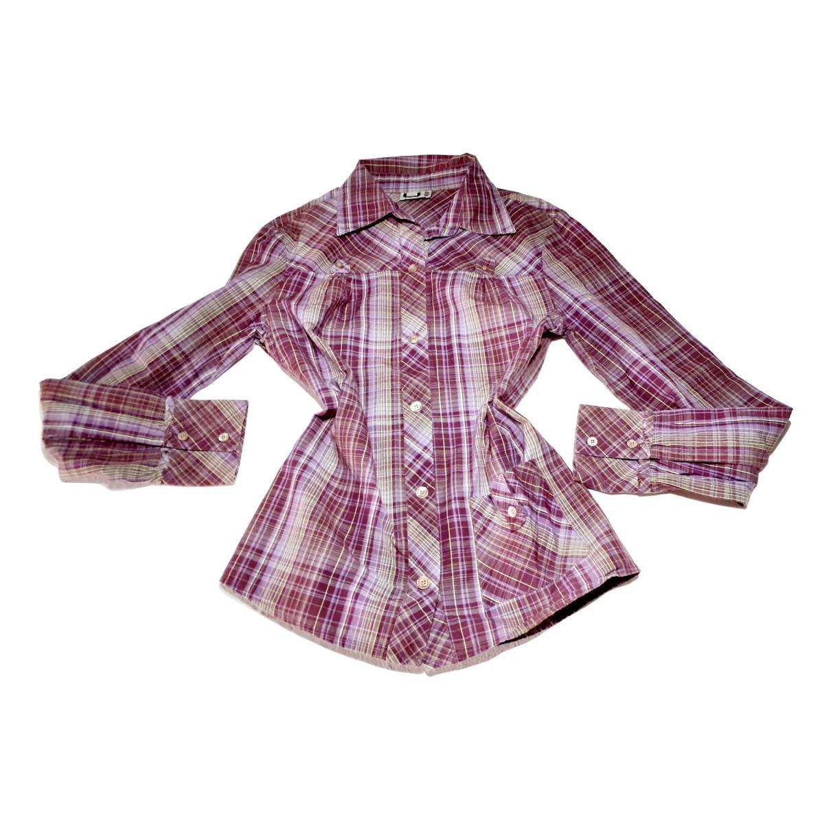 Adolfo Dominguez \N Burgundy Cotton  top for Women 38 FR