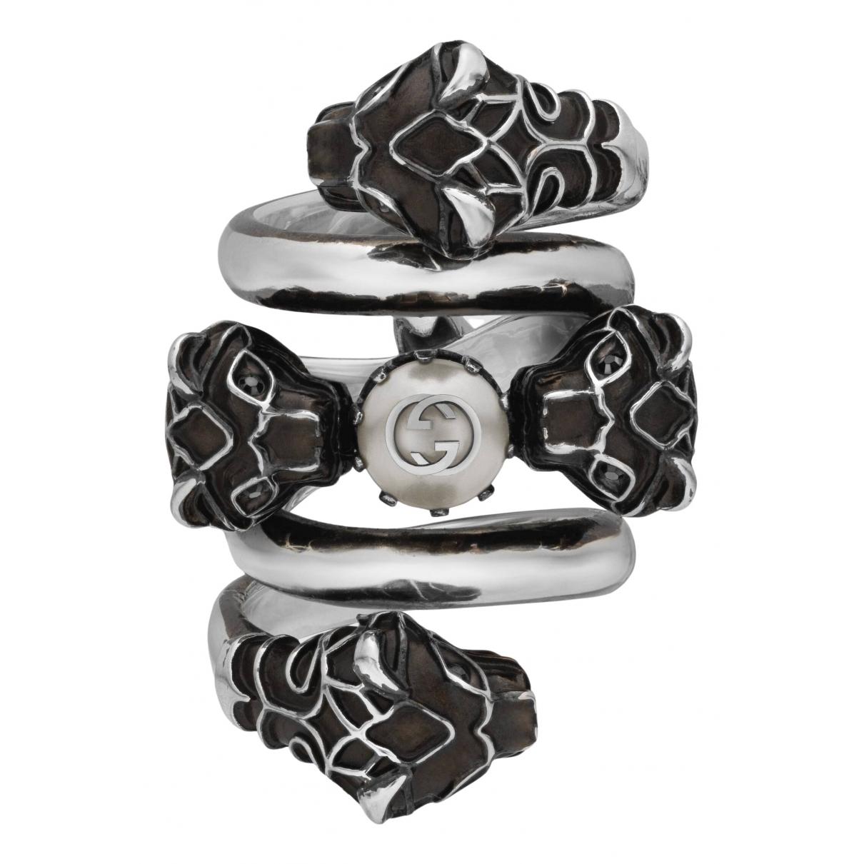 Gucci \N Silver Metal ring for Women 53 EU