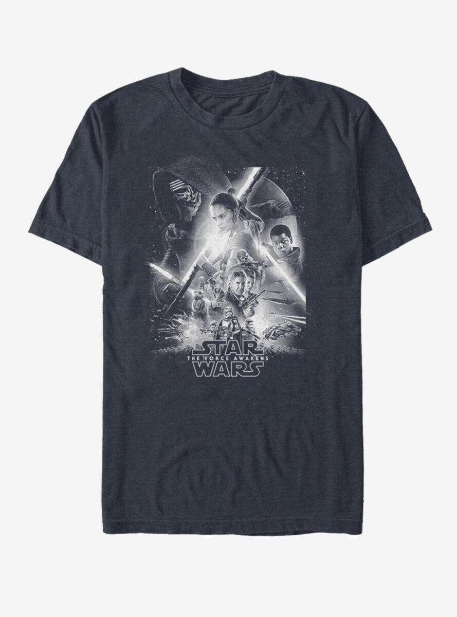 Star Wars Awakens Poster T-Shirt