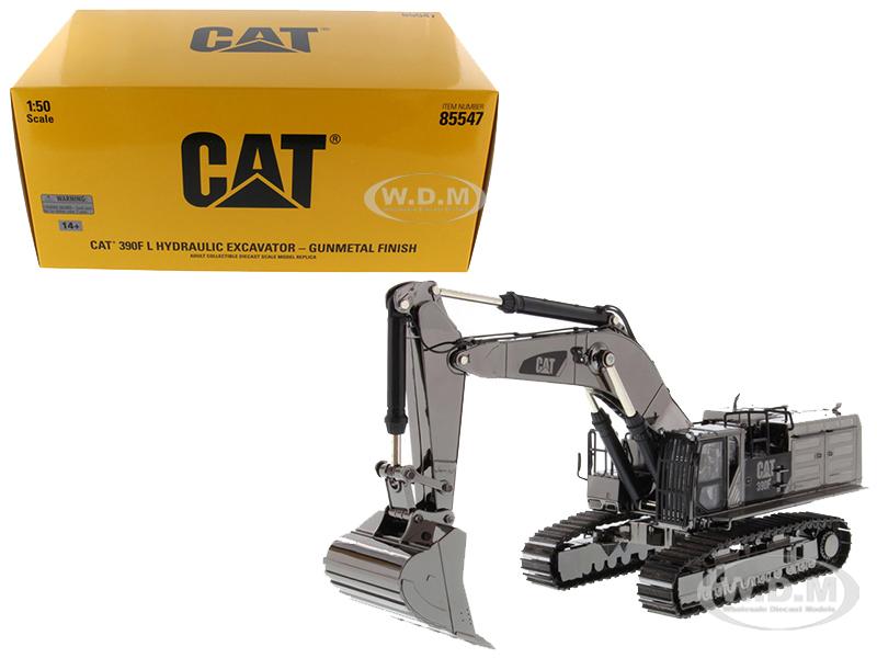 CAT Caterpillar 390F L Hydraulic Tracked Excavator Gunmetal