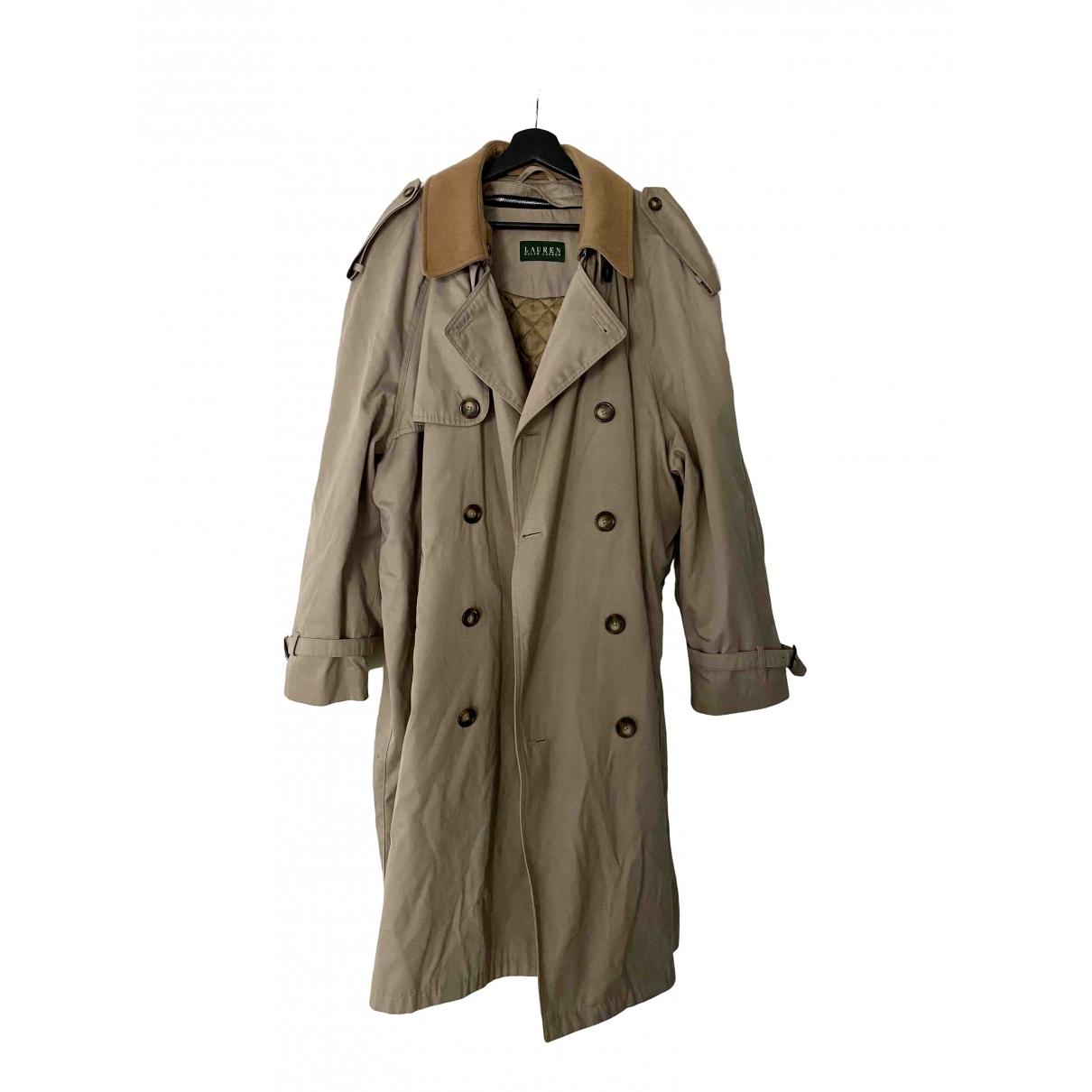 Lauren Ralph Lauren \N Beige Cotton coat  for Men 48 FR