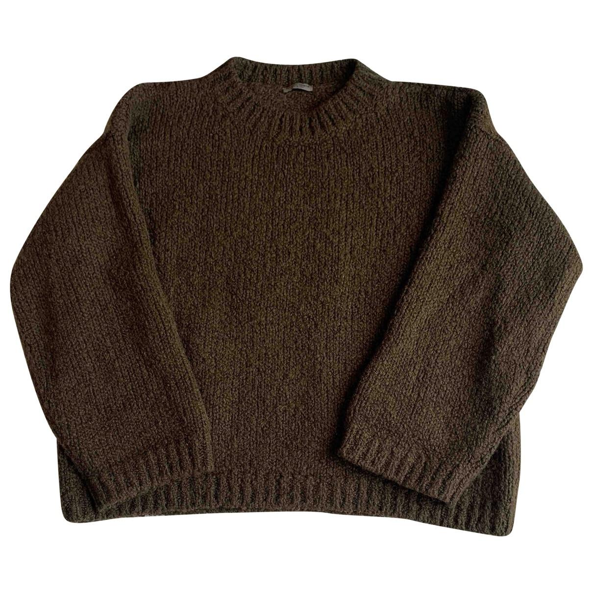 Bottega Veneta \N Khaki Wool Knitwear for Women 40 IT