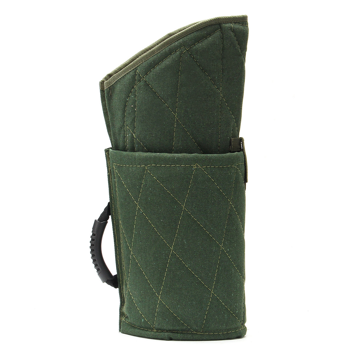 Durable Green Police Dog Training Bite Protection Arm Sleeve For Young Working Dog
