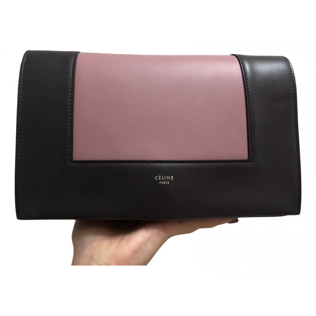 Celine Frame Pink Leather handbag for Women \N