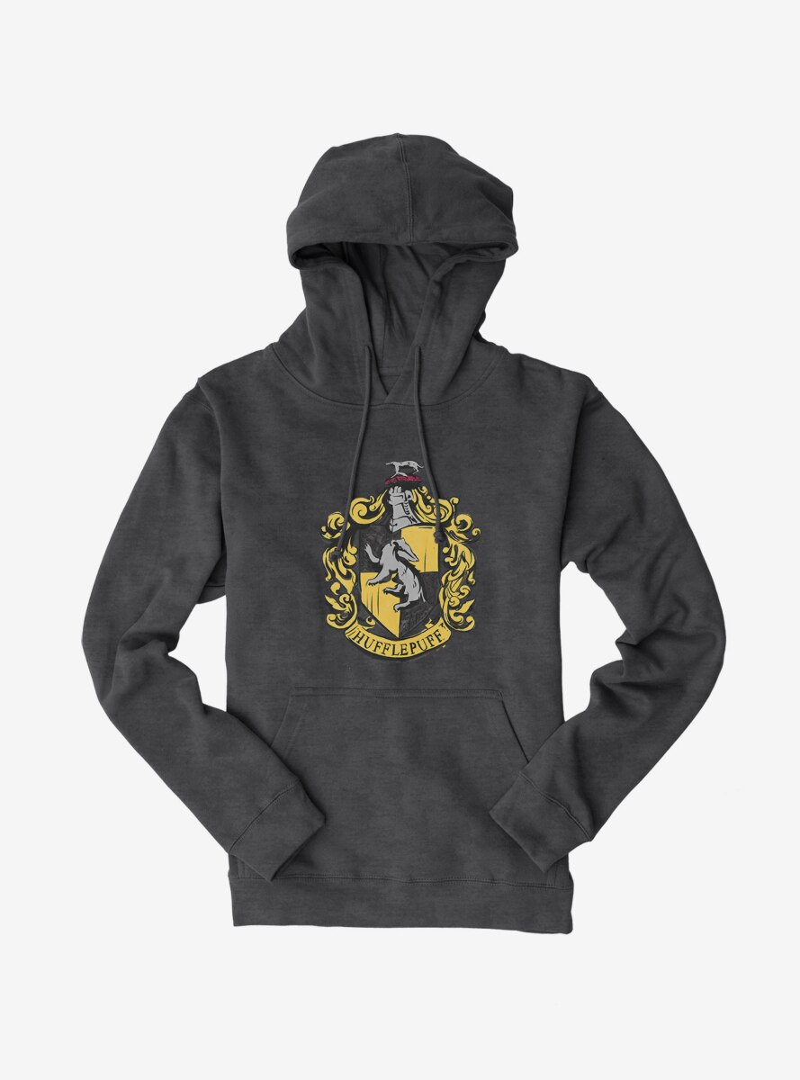 Harry Potter Hufflepuff Shield Hoodie