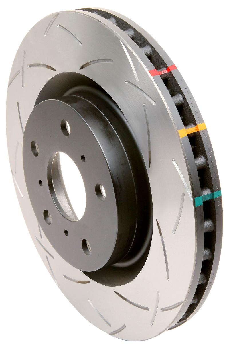 Disc Brakes Australia T3 4000 Series - T-Slot Uni-Directional Slotted Rotor Jeep Grand Cherokee Rear 1993-1998